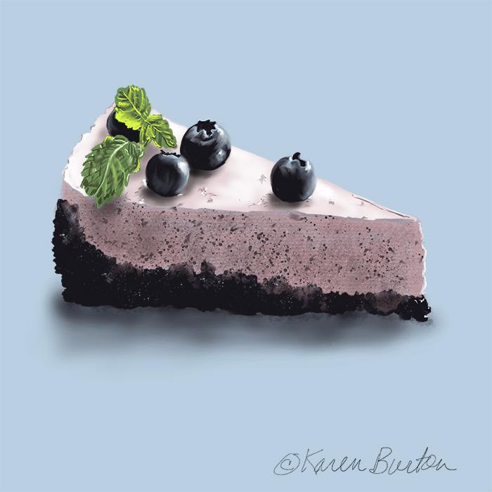 Karen Burton | Blueberry Tart