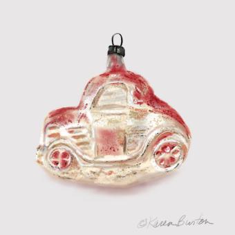 Karen Burton | Antique Car Ornament