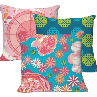 Karen Burton | Cheerful Collection Pillows
