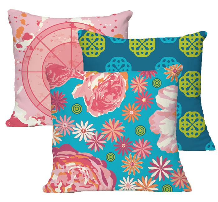 Karen Burton | Cheerful Collection Pillows