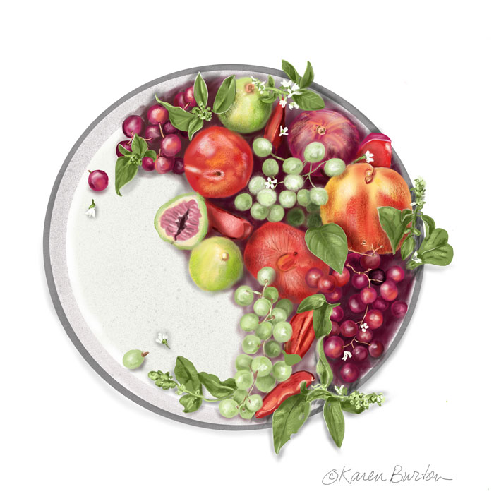 Karen Burton | Fruit Medley