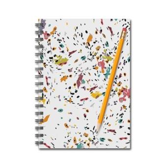 Karen Burton | Confetti Notebook Mockup