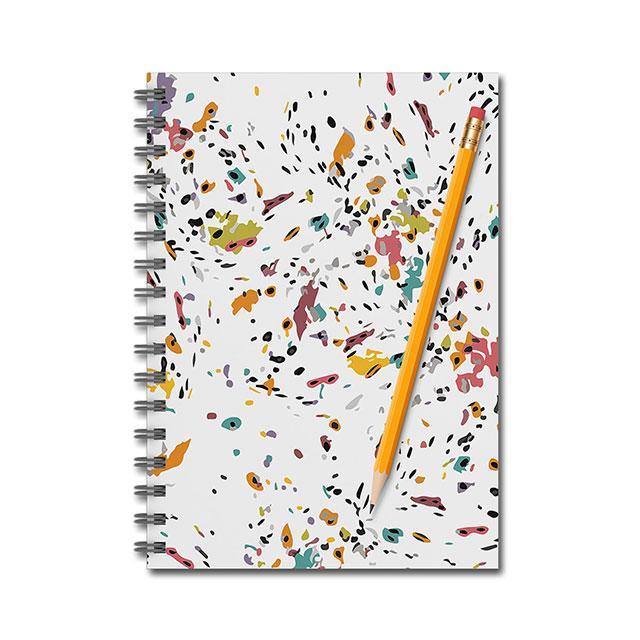 Karen Burton | Confetti Notebook