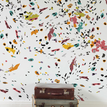 Karen Burton | Confetti Wallpaper Mockup