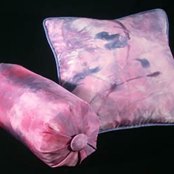 Karen Burton | Hand-Painted Silk Pillows