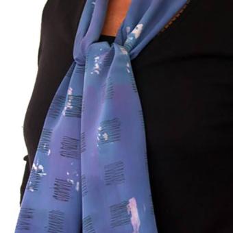 Karen Burton | Hand Painted Silk Scarf 2