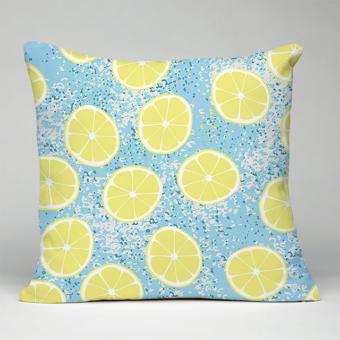 Karen Burton | Lemons Pillow Mockup