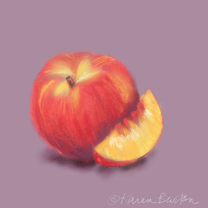 Peaches | Karen Burton