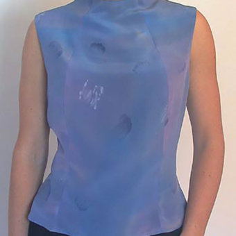 Karen Burton | Hand-Painted Silk Top