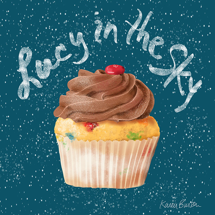 Karen Burton | Lucy in the Sky Cupcake