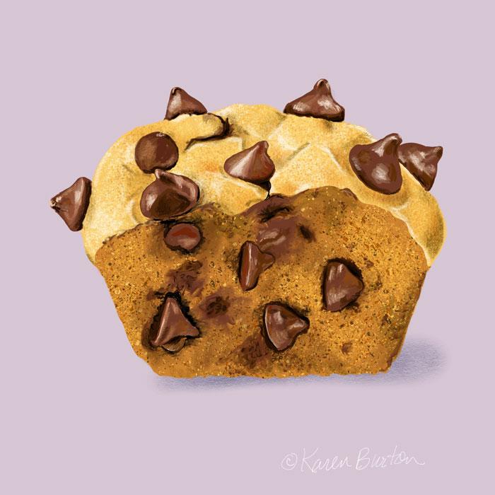 Karen Burton | Pumpkin Muffin