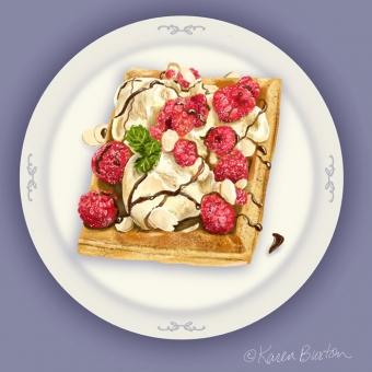 Karen Burton | Pumpkin Waffle