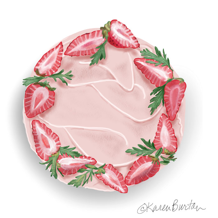 Karen Burton | Strawberries and Buttercream