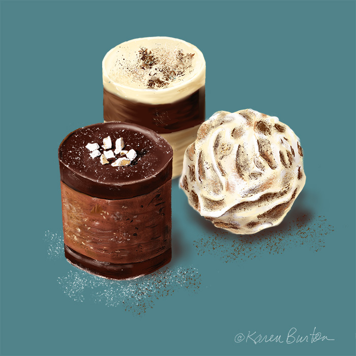 Karen Burton | Three Chocolates