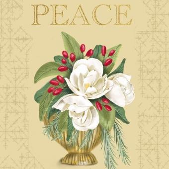 Karen Burton | Peace Christmas Bouquet
