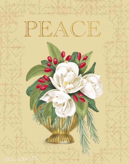 Karen Burton - Christmas Peace