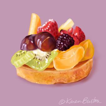 Karen Burton | Fruit Tart